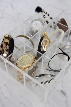 Homevialaura | How to store jewellery | Muji | Michael Kors | Marc by Marc Jacobs | Reiss