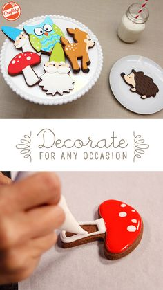 Design and decorate the best cookies ever with easy-to-follow video instruction from confectionary artist Autumn Carpenter. With these on-demand lessons, you don't even need to leave the kitchen!