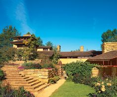 Taliesin - Frank Lloyd Wright's home.