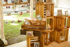 Photos displayed beside Registration Table