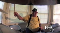 Watch Studio 35 artist Jim drumming at FHR's Westwick House in Rhode Island www.fellowshiphr.org #FHR #Studio35 #ArtTherapy