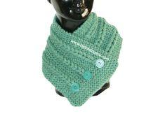 Cuello con trenzas de vainilla - Tejiendo Perú Knitting Stitches, Knitting Patterns Free, Knit Patterns, Free Pattern, Neck Scarves, Cowl, Knit Crochet, Base, Shawls