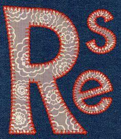 616 Mischevious Blanket Stitch Applique Font - Jolson's Designs