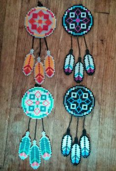 Dreamcatcher Custom Color Perler von BlackSheepWorkshop91 auf Etsy