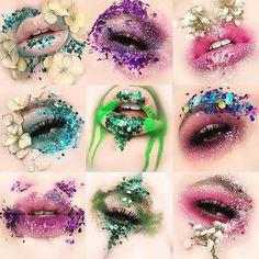 Makeup Essentials That You Don't Want To Go Without – Makeup Mastery Makeup Inspo, Makeup Art, Makeup Inspiration, Eyeshadow Makeup, Lip Makeup, Flower Makeup, Wedding Makeup Tips, Creative Makeup Looks, Cosplay Makeup