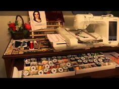 Brother PE-770 How to begin(2/5). This is Part 2 of a five part tutorial for beginners using the Brother PE-770 embroidery only machine.