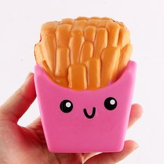 Squishy Spielzeug Jumbo French Fries Cat Hamburger Coffee Cup 3 Pcs Jumbo Squishies Slow Rising Squeeze Toys Stress Relief Spielzeug Sweet Scented Kawaii Toy for Kid Adlut Gift Dekoration