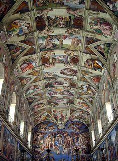 12130 - Vatican - Cappella Sistina