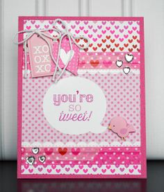 Vivacious Valentines Creation by Wendy Sue Anderson using Doodlebug for the Simon Says Stamp Blog.  February  2014