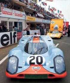 Porsche 917 et Ferrari 512