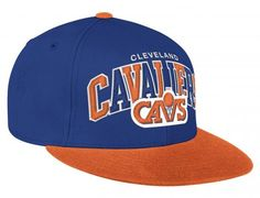 Cleveland Cavaliers Arch Tri-Pop Fitted Baseball Cap by MITCHELL & NESS x NBA