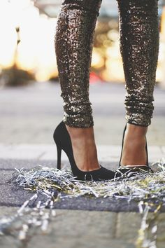 Sparkly Party Pants