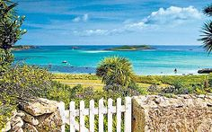 The Isles of Scilly off the coast of England. Wouldn't you think this was in the Caribbean?