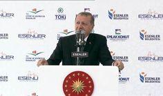 Cumhurbaşkanı Erdoğan: Çanakkale köprüsünün de inşallah hazırlıkları yapılıyor