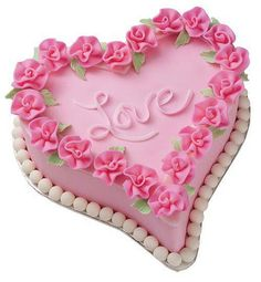 Looking for Valentine's Day treat recipes for your Valentines this year? Find great ideas for delicious Valentine's Day cakes and desserts at Wilton. Pretty Cakes, Beautiful Cakes, Amazing Cakes, Cake Cookies, Cupcake Cakes, Heart Shaped Cake Pan, Bolo Fondant, Fig Cake, Heart Cakes