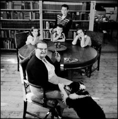 The Short Complex Life of Shirley Jackson (Erich Hartmann/Magnum) The New Yorker, Erich Hartmann, Shirley Jackson, Writers And Poets, Page Turner, Great Books, Book Worms, Your Dog, Literature