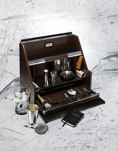 """THE BAR KEEP - Ralph Lauren """"Bond"""" mixologist box. 212 872 2866"""