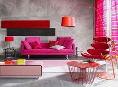 Coisinhas de decorar: Owww #Red #Orange #Pink #Love #DecoraçãoCriativa