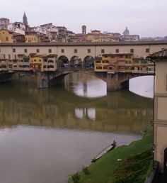 Florence - Bridge Over Arno River