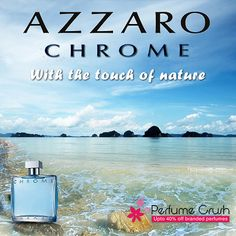 Enjoy the touch of nature with Azzaro Chrome: http://www.perfumecrush.com/perfumes-for-men/44-chrome-legend-by-azzaro-for-men.html