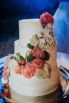 Wedding Cake - Natural Flowers