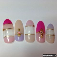 ネイル チップ Nail Tips by Nail Art Market. #nailartmarket
