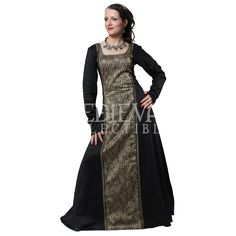Arabella Cotton Dress - DC1103 by Medieval Collectibles