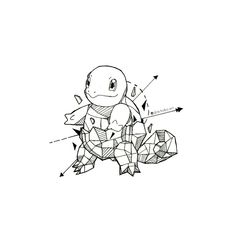 Geometric Squirtle