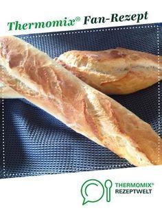 Baguette von DorisR_69. Ein Thermomix ® Rezept aus der Kategorie Brot & Brötchen auf www.rezeptwelt.de, der Thermomix ® Community.