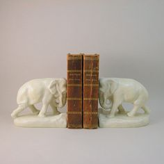 Art Deco Elephant Bookends by Rookwood William by CaldecottArt, $525.00