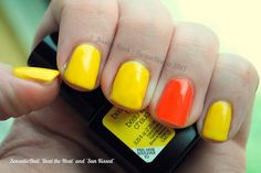 "SensatioNail ""Beat the Heat"" and ""Sun Kissed"" 