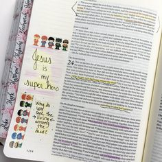 "Melanie on Instagram: ""I saw this washi from @silentpoetryarts and had to have it for my little guy! He loves washi and he loves superheroes! I had to snag a little for my #journalingbible though before the whole roll ends up on every surface in my house!  #washi #washilove #biblejournalingdaily #biblejournaling #journalingbible #bibletabs #illustratedfaith"""