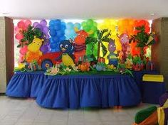 decoración de mesa para fiesta infantil