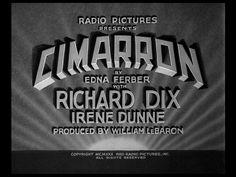 Movie Title Screen - Cimarron