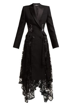 """carry-one-tater-tot: """" chandelyer: """"ALEXANDER MCQUEEN lace corset jacket & lace tuxedo dress """" """" Kpop Fashion Outfits, Stage Outfits, Edgy Outfits, Suit Fashion, Cool Outfits, Fashion Dresses, Fashion Tips, Gothic Fashion, Boho Fashion"""