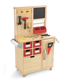Adorable workbench for the future garage
