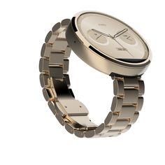 Moto 360 - classic design, but a smart watch