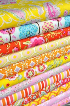 "need some new fabric... maybe something from this collection called ""pretty little things"""