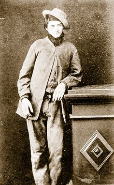 Dan Kelly photographed in 1877-78, when he was sixteen, shortly before his involvement in the Fitzpatrick incident.