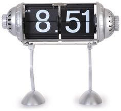 Maples Table Flip Clock Robot Legs * Visit the image link more details.