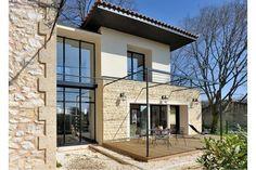 Réalisé par l'agence d'architecture SARL JOSE MARCOS ARCHITECTE Extension maison Retrouvez la fiche sur Archidvisor