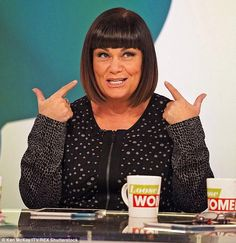 Down-to-earth: Dawn French (pictured last month) has revealed she would rather stick to ba...