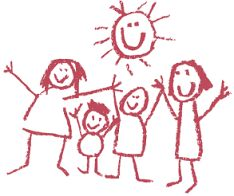Image result for  child drawing  family