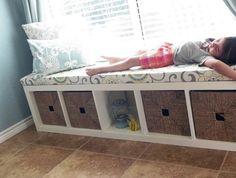 etagere kallax ikea horizontale pour faire canapé