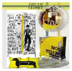 """DREAM CLOSET"" by nicolevalents ❤ liked on Polyvore featuring interior, interiors, interior design, home, home decor, interior decorating and Scion"