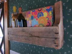 Our pallet shelf | Do It Yourself Home Projects from Ana White