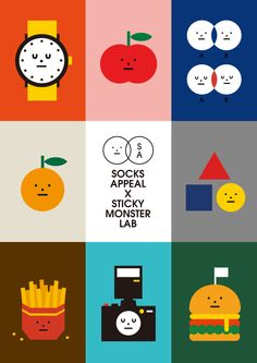 Autumn Illustration, Type Illustration, Character Illustration, Sticky Monster, Vector Design, Graphic Design, Kids Branding, Illustrations And Posters, Storyboard