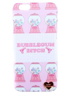 Printed Bubblegum B**** phone case for both iPhone's & Galaxy's.
