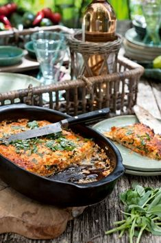 Lasagne van courgette met tomaten en feta | Pascale Naessens Pureed Food Recipes, Veggie Recipes, Healthy Dinner Recipes, Vegetarian Recipes, Moussaka, Tapas, Atkins, Zucchini Lasagne, Go For It