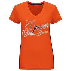 NFL Womens Denver Broncos Short Sleeve T-shirt: Shopko
